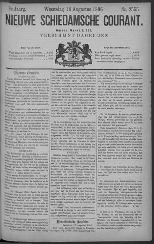 Nieuwe Schiedamsche Courant 1886-08-18