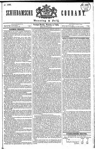 Schiedamsche Courant 1866-07-09
