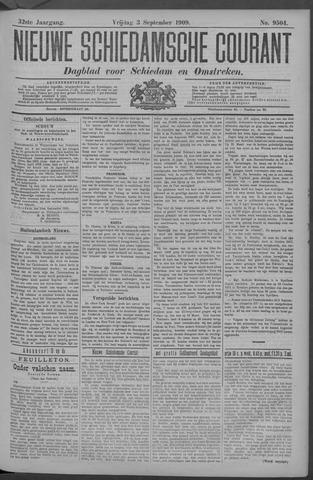 Nieuwe Schiedamsche Courant 1909-09-03