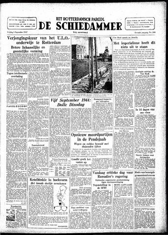 Rotterdamsch Parool / De Schiedammer 1947-09-05