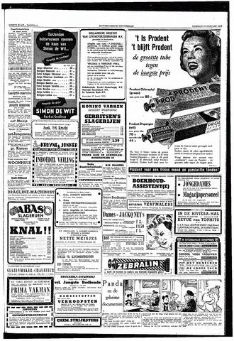 Rotterdamsch Nieuwsblad / Schiedamsche Courant / Rotterdams Dagblad / Waterweg / Algemeen Dagblad 1953-01-27