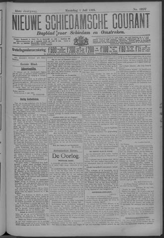 Nieuwe Schiedamsche Courant 1918-07-01