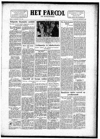 Rotterdamsch Parool / De Schiedammer 1946-09-20