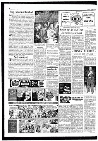 Rotterdamsch Parool / De Schiedammer 1959-05-15