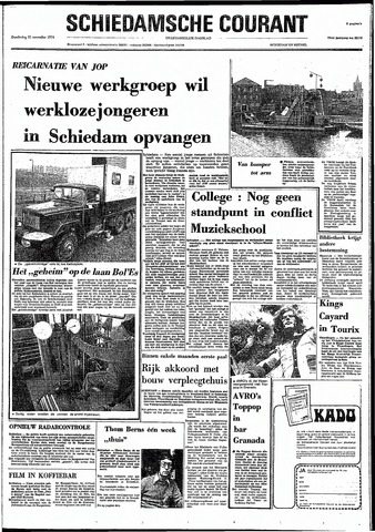 Rotterdamsch Nieuwsblad / Schiedamsche Courant / Rotterdams Dagblad / Waterweg / Algemeen Dagblad 1974-11-21