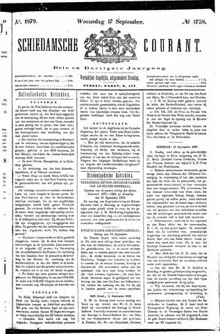 Schiedamsche Courant 1879-09-17
