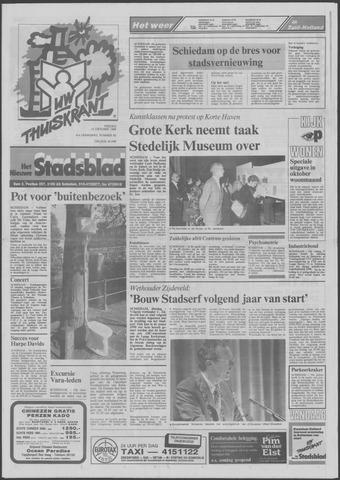 Het Nieuwe Stadsblad 1989-10-13