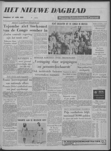 Nieuwe Schiedamsche Courant 1961-06-27