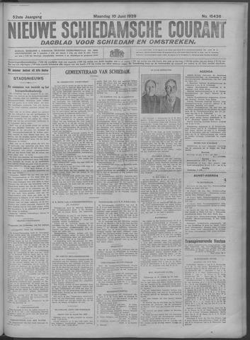 Nieuwe Schiedamsche Courant 1929-06-10