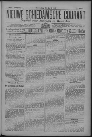 Nieuwe Schiedamsche Courant 1913-04-10