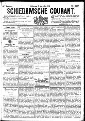 Schiedamsche Courant 1912-08-03
