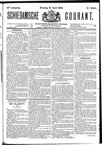 Schiedamsche Courant 1898-04-19