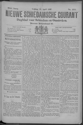 Nieuwe Schiedamsche Courant 1897-04-23