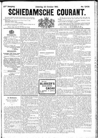 Schiedamsche Courant 1910-10-22