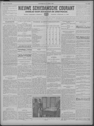 Nieuwe Schiedamsche Courant 1933-04-27