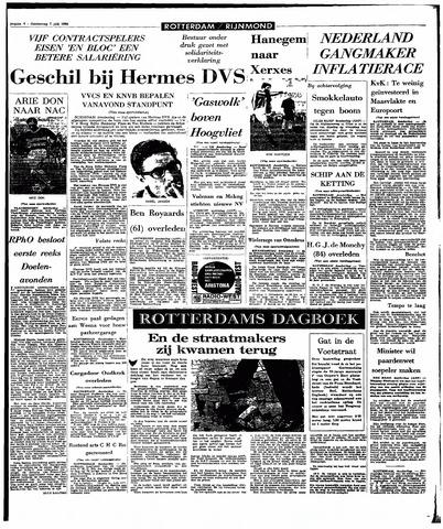 Rotterdamsch Parool / De Schiedammer 1966-07-07
