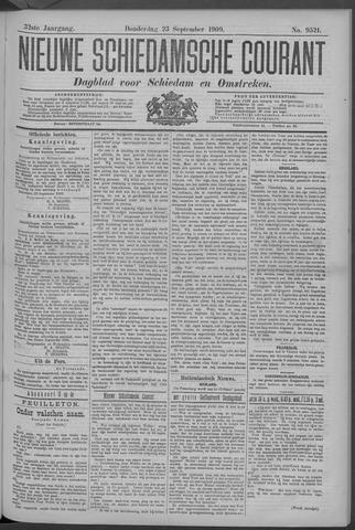 Nieuwe Schiedamsche Courant 1909-09-23