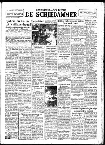 Rotterdamsch Parool / De Schiedammer 1947-08-13