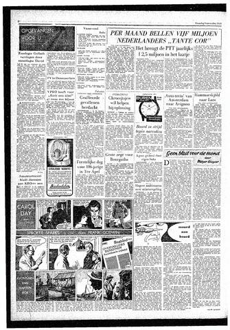 Rotterdamsch Parool / De Schiedammer 1959-11-09