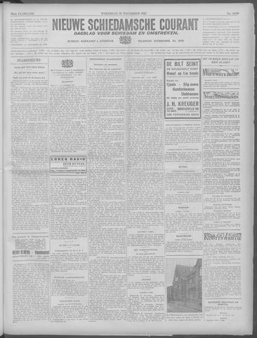 Nieuwe Schiedamsche Courant 1933-11-29