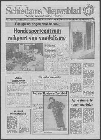Schiedams Nieuwsblad 1984-09-05