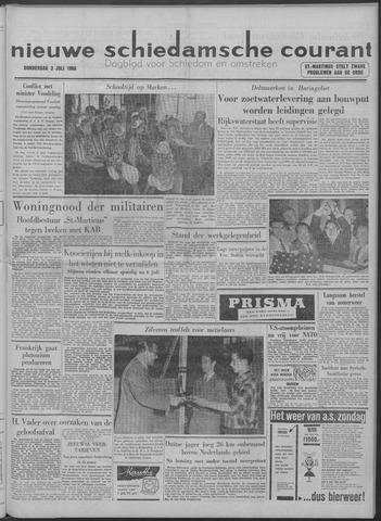 Nieuwe Schiedamsche Courant 1958-07-03