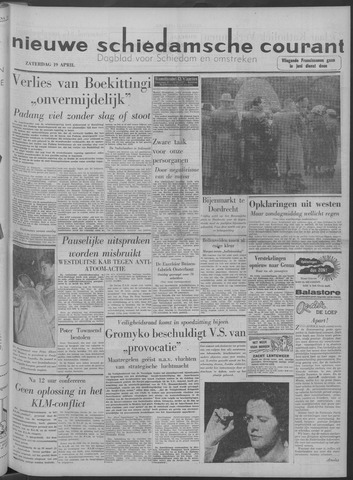 Nieuwe Schiedamsche Courant 1958-04-19