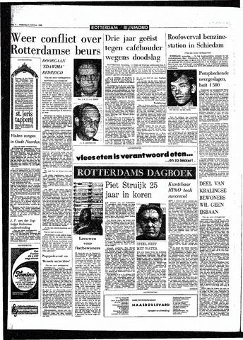 Rotterdamsch Parool / De Schiedammer 1968-10-09
