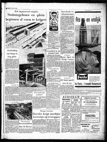 Rotterdamsch Parool / De Schiedammer 1962-07-07