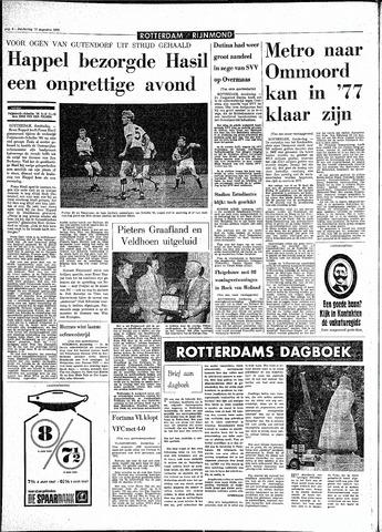 Rotterdamsch Parool / De Schiedammer 1970-08-13