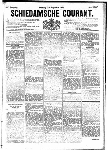 Schiedamsche Courant 1910-08-23