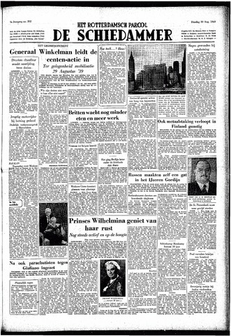 Rotterdamsch Parool / De Schiedammer 1949-08-30