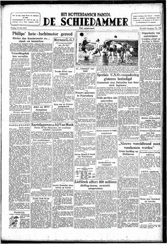 Rotterdamsch Parool / De Schiedammer 1947-05-16