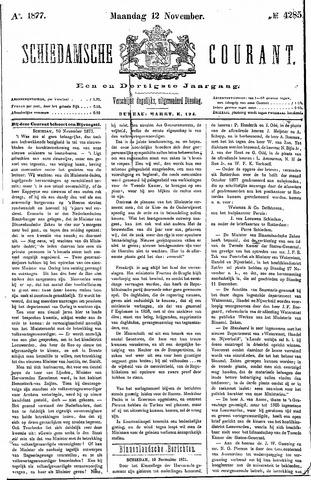 Schiedamsche Courant 1877-11-12