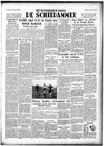 Rotterdamsch Parool / De Schiedammer 1948-02-11