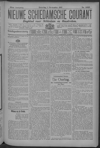 Nieuwe Schiedamsche Courant 1917-09-01