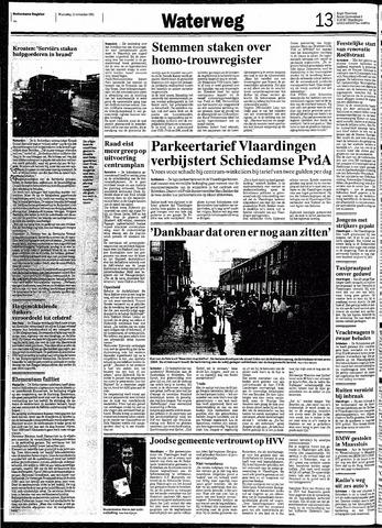 Rotterdamsch Nieuwsblad / Schiedamsche Courant / Rotterdams Dagblad / Waterweg / Algemeen Dagblad 1991-11-13