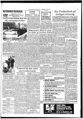 Rotterdamsch Nieuwsblad / Schiedamsche Courant / Rotterdams Dagblad / Waterweg / Algemeen Dagblad 1965-06-05