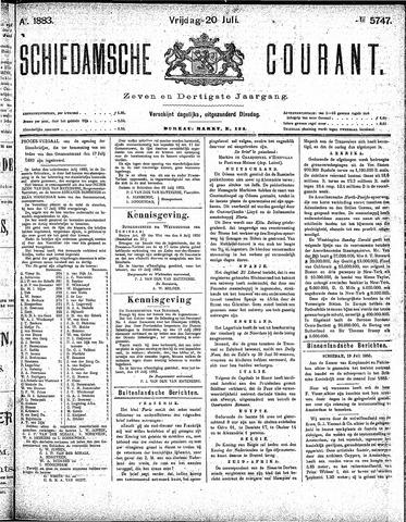 Schiedamsche Courant 1883-07-20