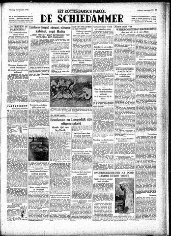 Rotterdamsch Parool / De Schiedammer 1948-02-03