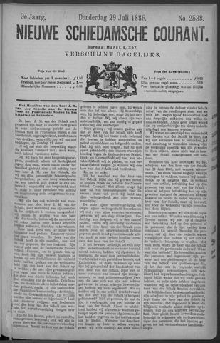 Nieuwe Schiedamsche Courant 1886-07-29