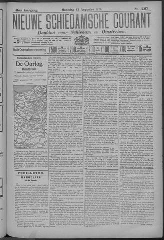 Nieuwe Schiedamsche Courant 1918-08-12