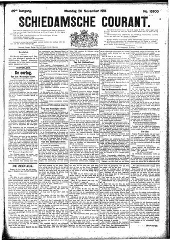 Schiedamsche Courant 1916-11-20