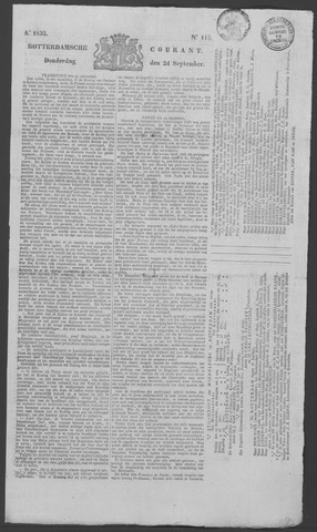 Rotterdamse Courant 1835-09-24