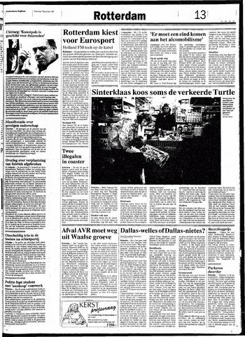 Rotterdamsch Nieuwsblad / Schiedamsche Courant / Rotterdams Dagblad / Waterweg / Algemeen Dagblad 1991-12-07