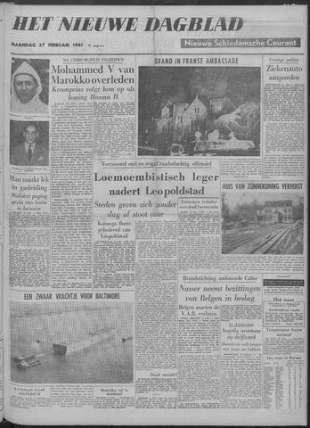 Nieuwe Schiedamsche Courant 1961-02-27