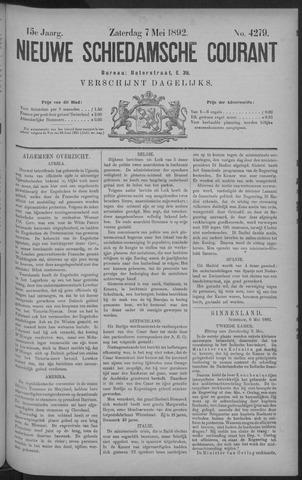 Nieuwe Schiedamsche Courant 1892-05-07