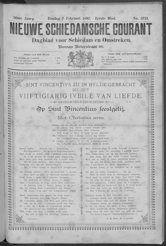 Nieuwe Schiedamsche Courant 1897-02-07