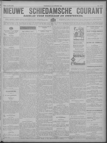Nieuwe Schiedamsche Courant 1929-10-16