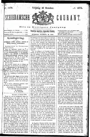 Schiedamsche Courant 1879-10-10